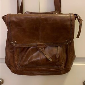 The Sak leather backpack - convertible
